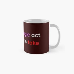 In a real magic act everything is fake _Colored_ Classic Mug RB2904product Offical WandaVision Merch