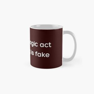In a real magic act everything is fake _White_ Classic Mug RB2904product Offical WandaVision Merch