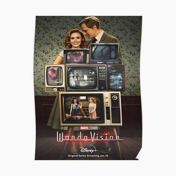 Lots Of Tv Poster RB2904product Offical WandaVision Merch