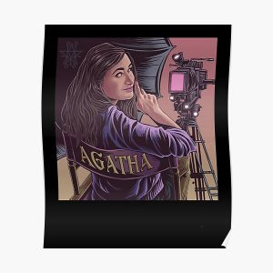It was agatha all along Poster RB2904product Offical WandaVision Merch