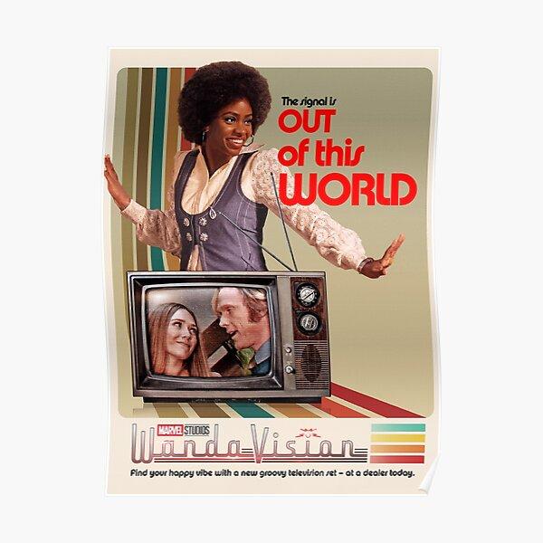 WandaVision Monica Rambeau  Poster RB2904product Offical WandaVision Merch