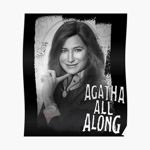 Agatha all along  picture Poster RB2904product Offical WandaVision Merch