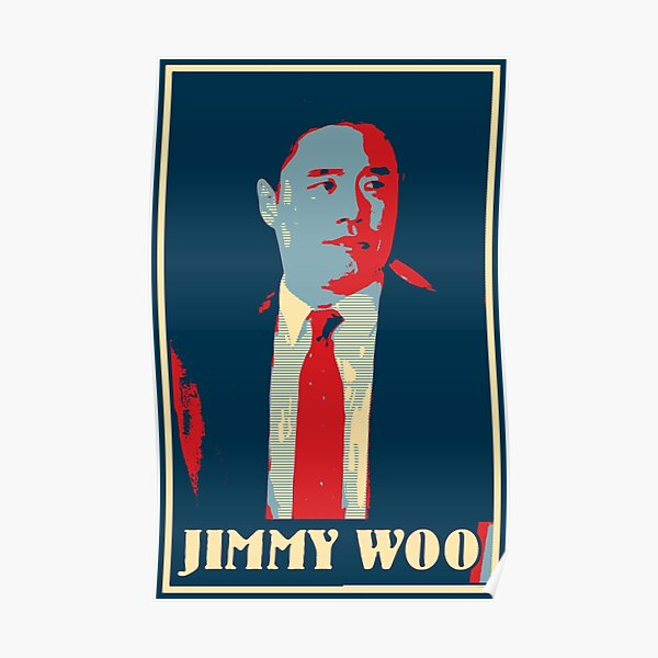 Jimmy woo latest vintage pattern  Poster RB2904product Offical WandaVision Merch