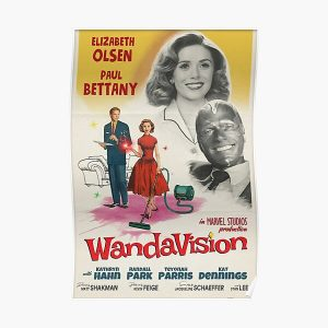 Wandavision Poster Poster RB2904product Offical WandaVision Merch