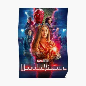 squad visiones Poster RB2904product Offical WandaVision Merch