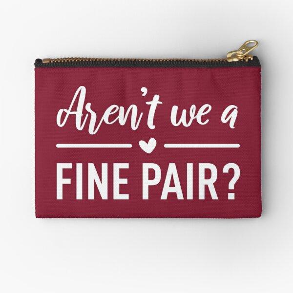 Arent We a Fine Pair?  Zipper Pouch RB2904product Offical WandaVision Merch