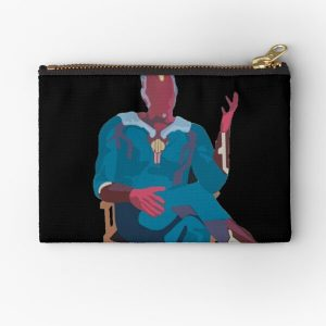 sitting vision Zipper Pouch RB2904product Offical WandaVision Merch