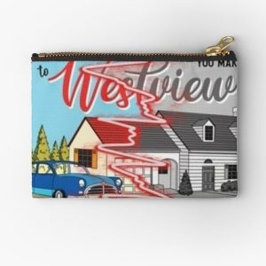 westview black and color Zipper Pouch RB2904product Offical WandaVision Merch
