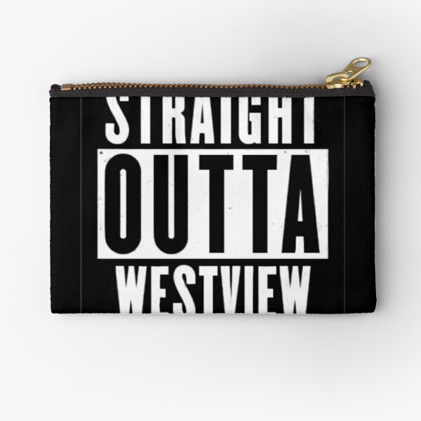 straight outta..2 Zipper Pouch RB2904product Offical WandaVision Merch