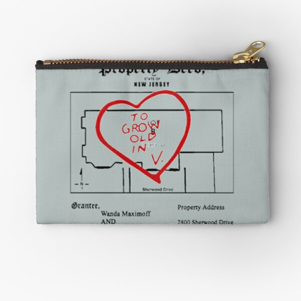 property paper Zipper Pouch RB2904product Offical WandaVision Merch