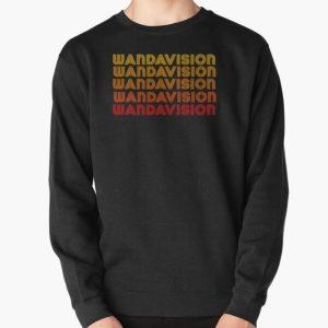 Retro Wandavision Style  Pullover Sweatshirt RB2904product Offical WandaVision Merch