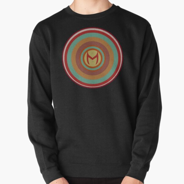 the witch pattern Pullover Sweatshirt RB2904product Offical WandaVision Merch