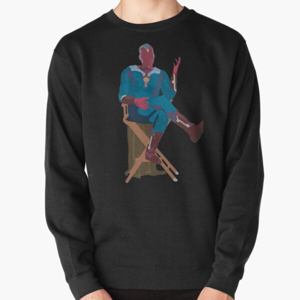 sitting vision Pullover Sweatshirt RB2904product Offical WandaVision Merch