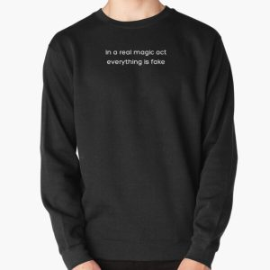 In a real magic act everything is fake _White_ Pullover Sweatshirt RB2904product Offical WandaVision Merch