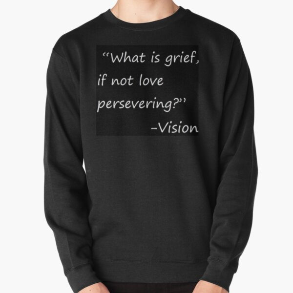statement by vision Pullover Sweatshirt RB2904product Offical WandaVision Merch