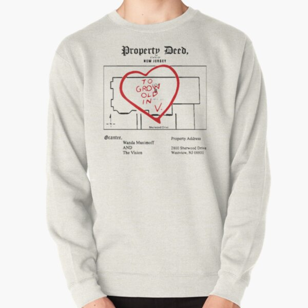 property paper Pullover Sweatshirt RB2904product Offical WandaVision Merch