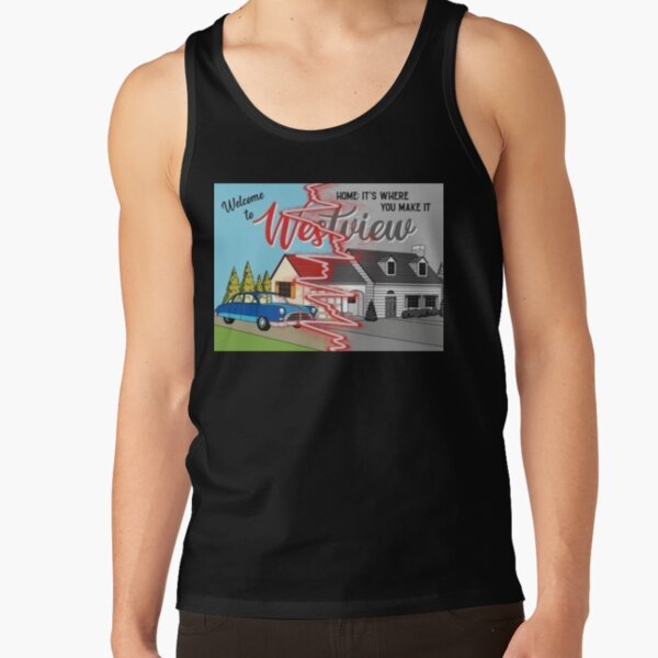 westview black and color Tank Top RB2904product Offical WandaVision Merch
