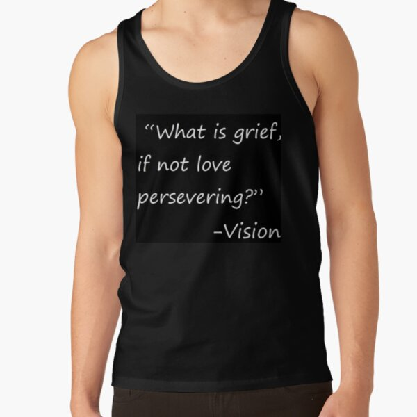 statement by vision Tank Top RB2904product Offical WandaVision Merch