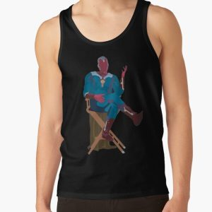 sitting vision Tank Top RB2904product Offical WandaVision Merch