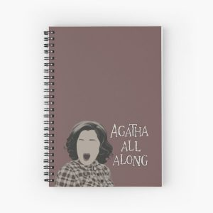 Agatha All Along Spiral Notebook RB2904product Offical WandaVision Merch