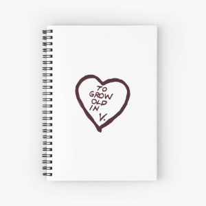 to grow old in, V.  Spiral Notebook RB2904product Offical WandaVision Merch