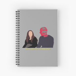 What Is Grief, If Not Love Persevering? Spiral Notebook RB2904product Offical WandaVision Merch