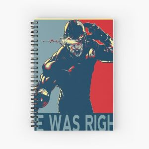he was right Spiral Notebook RB2904product Offical WandaVision Merch