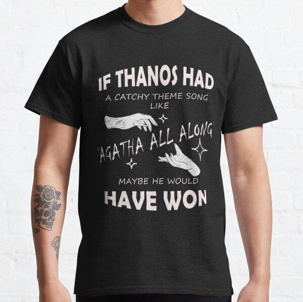 Agatha All Along Funny Tshirt WandaVision Marvel Classic T-Shirt RB2904product Offical WandaVision Merch