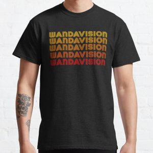 Retro Wandavision Style  Classic T-Shirt RB2904product Offical WandaVision Merch