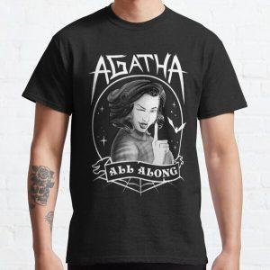 Agata Sparkle Night Classic T-Shirt RB2904product Offical WandaVision Merch