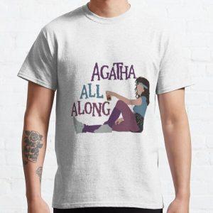 Agatha All Along  Classic T-Shirt RB2904product Offical WandaVision Merch