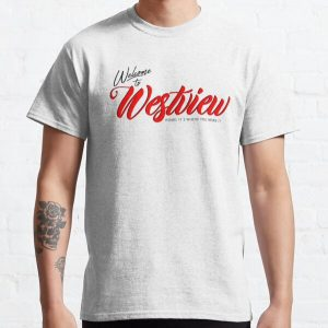 WELCOME TO WESTVIEW Classic T-Shirt RB2904product Offical WandaVision Merch