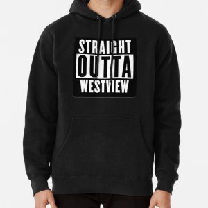 straight outta..2 Pullover Hoodie RB2904product Offical WandaVision Merch