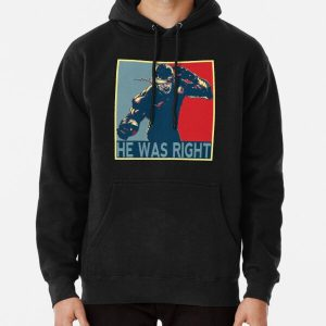 he was right Pullover Hoodie RB2904product Offical WandaVision Merch