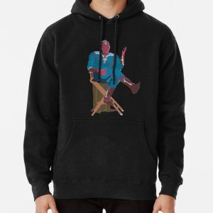 sitting vision Pullover Hoodie RB2904product Offical WandaVision Merch