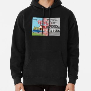 westview black and color Pullover Hoodie RB2904product Offical WandaVision Merch