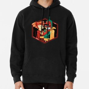 hexagon witch Pullover Hoodie RB2904product Offical WandaVision Merch