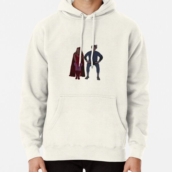 Halloween Wanda and Pietro Pullover Hoodie RB2904product Offical WandaVision Merch