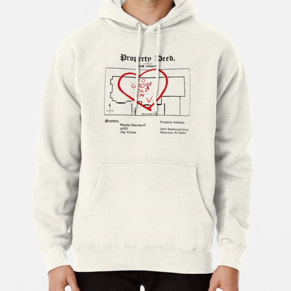 property paper Pullover Hoodie RB2904product Offical WandaVision Merch
