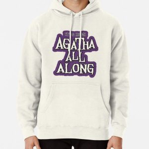 purple statement Pullover Hoodie RB2904product Offical WandaVision Merch