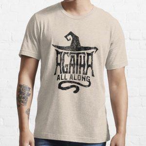 Black Hat Agata Essential T-Shirt RB2904product Offical WandaVision Merch