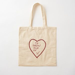 TO GROW OLD IN V. Cotton Tote Bag RB2904product Offical WandaVision Merch