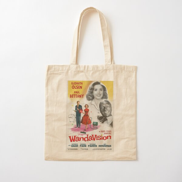 Wandavision Poster Cotton Tote Bag RB2904product Offical WandaVision Merch