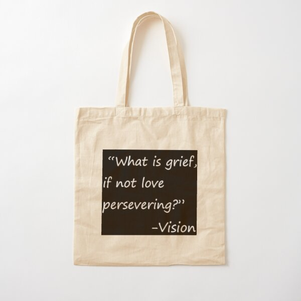 statement by vision Cotton Tote Bag RB2904product Offical WandaVision Merch