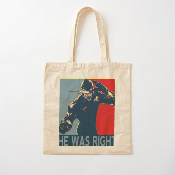 he was right Cotton Tote Bag RB2904product Offical WandaVision Merch