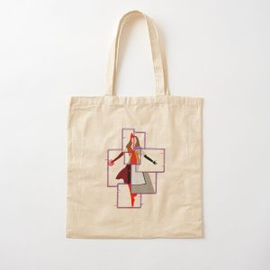 The Many Styles of Wanda Cotton Tote Bag RB2904product Offical WandaVision Merch
