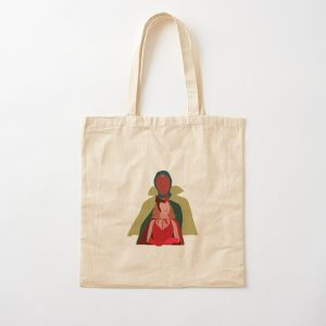WV Cotton Tote Bag RB2904product Offical WandaVision Merch
