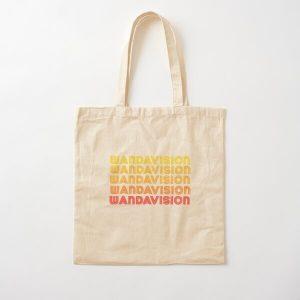 Retro Wandavision Style  Cotton Tote Bag RB2904product Offical WandaVision Merch