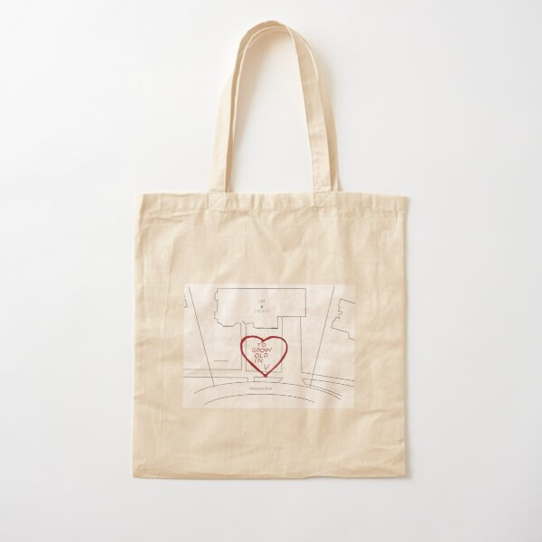 To grow old in Westview map Cotton Tote Bag RB2904product Offical WandaVision Merch