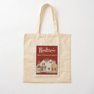 Westview Cotton Tote Bag RB2904product Offical WandaVision Merch